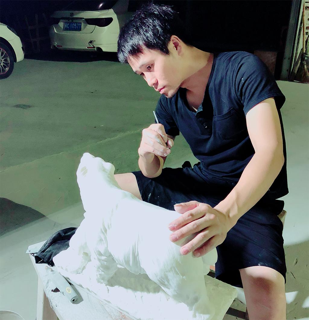 勇于实践,取于探索|石雕师蔡碧海